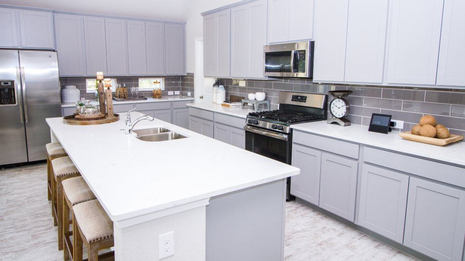 Kitchen featured in the Gilson By Lennar in San Antonio, TX