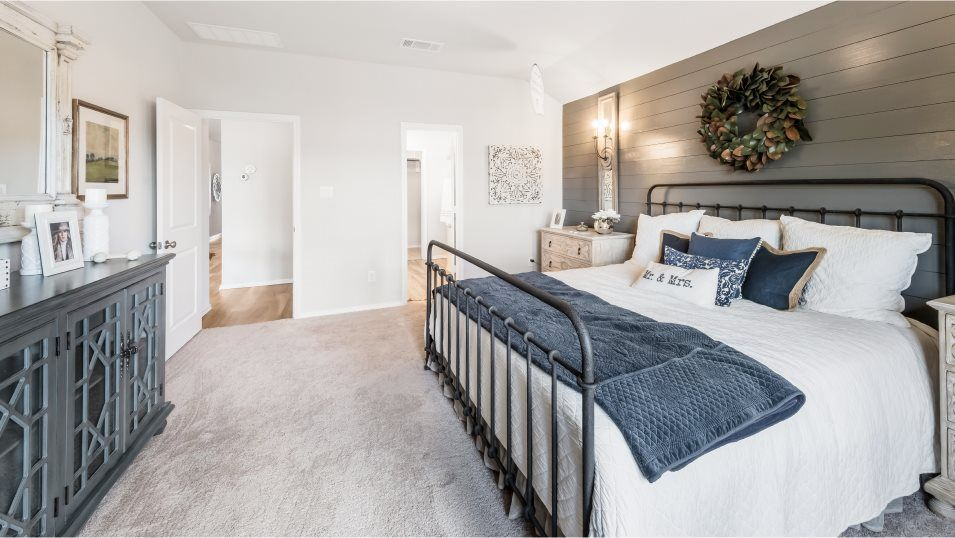Bedroom featured in the Halstead II By Lennar in San Antonio, TX