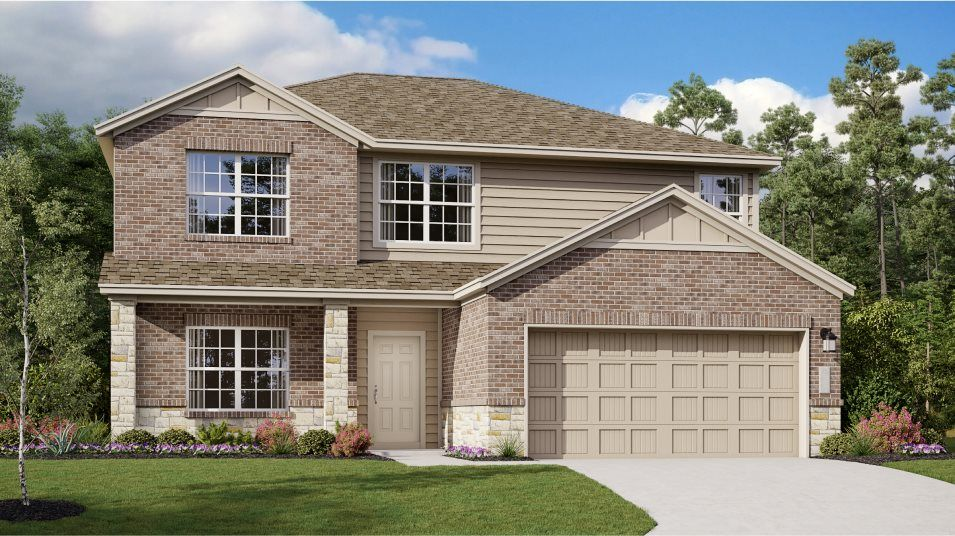 Exterior featured in the Halstead By Lennar in San Antonio, TX
