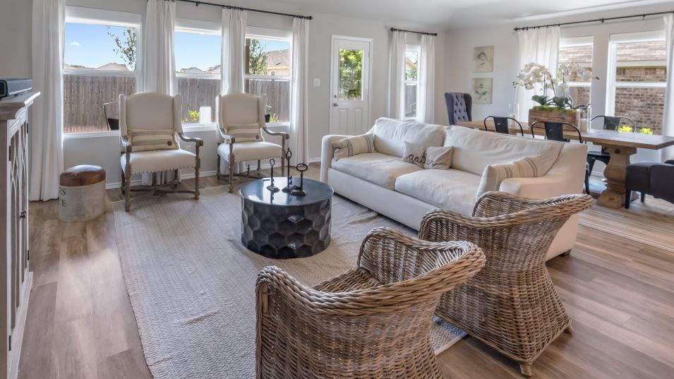 Living Area featured in the Halstead By Lennar in San Antonio, TX