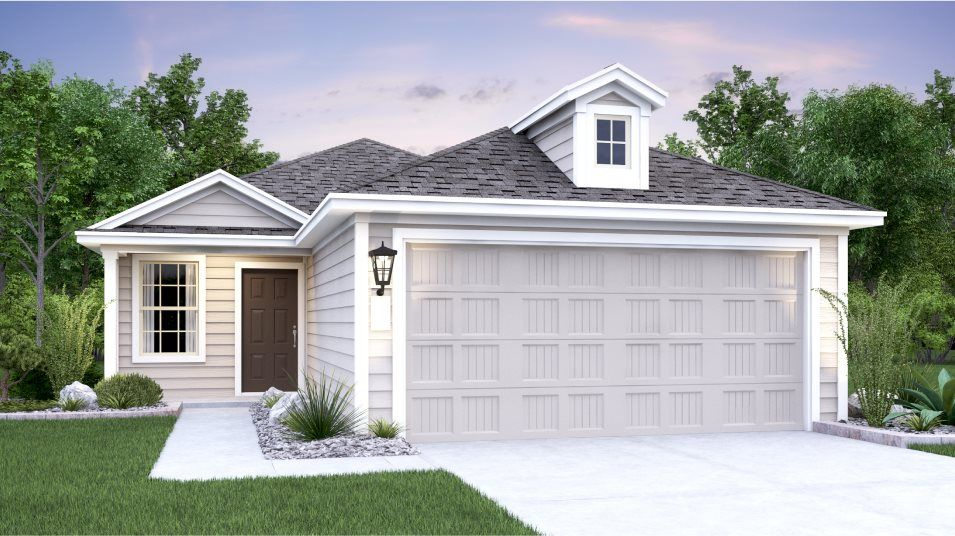 Exterior featured in the Durbin By Lennar in San Antonio, TX