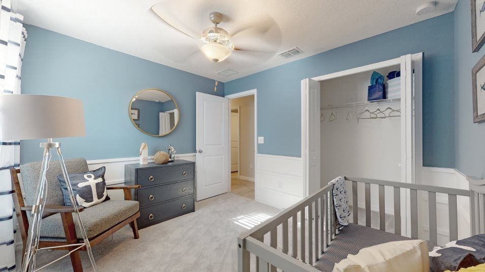 Bedroom featured in the Harrisburg By Lennar in Tampa-St. Petersburg, FL