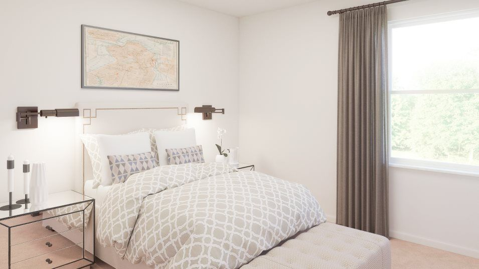 Bedroom featured in the Splendor By Lennar in Tampa-St. Petersburg, FL