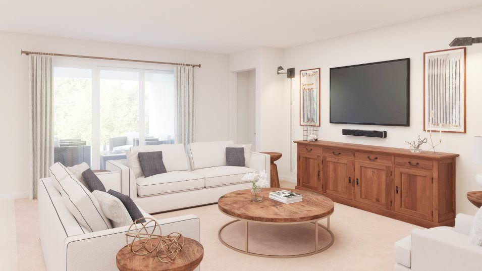 Living Area featured in the Sunburst By Lennar in Tampa-St. Petersburg, FL