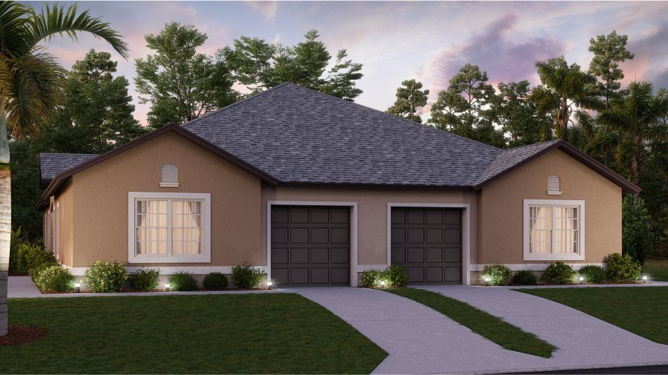 Exterior featured in the Salem By Lennar in Tampa-St. Petersburg, FL