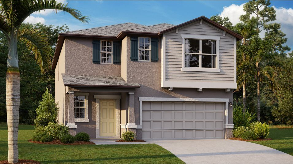 Exterior featured in the Concord By Lennar in Tampa-St. Petersburg, FL