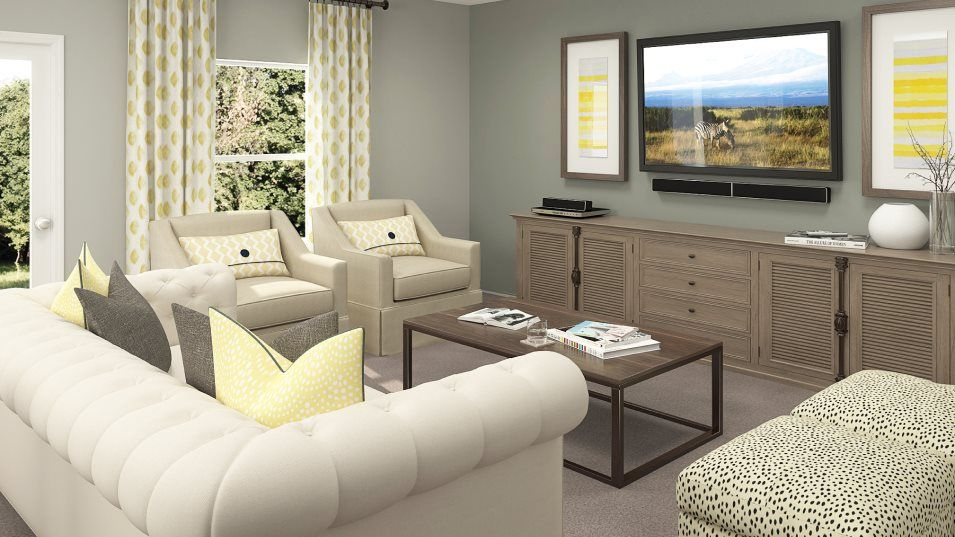 Living Area featured in the Boston By Lennar in Tampa-St. Petersburg, FL