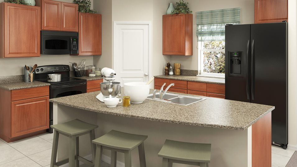 Kitchen featured in the Boston By Lennar in Tampa-St. Petersburg, FL