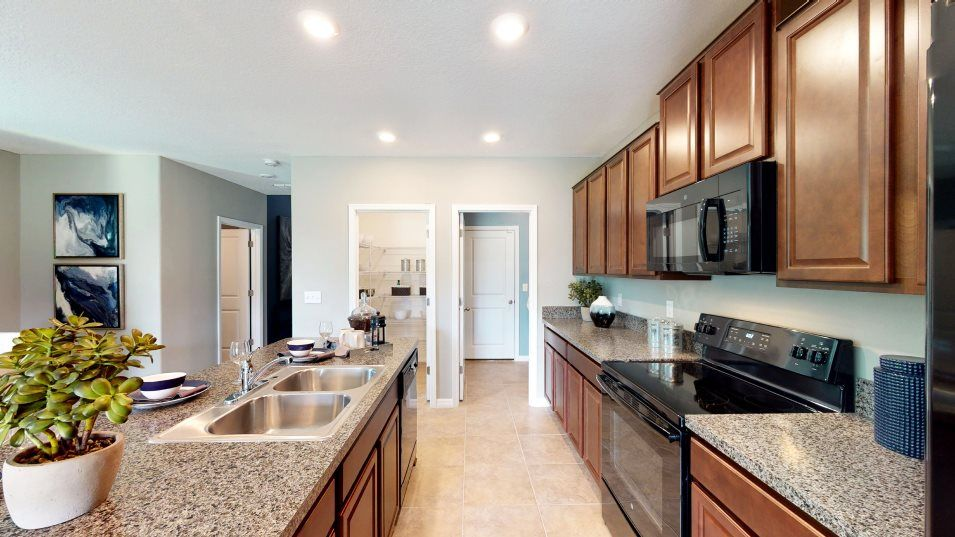 Kitchen featured in the Columbia By Lennar in Tampa-St. Petersburg, FL