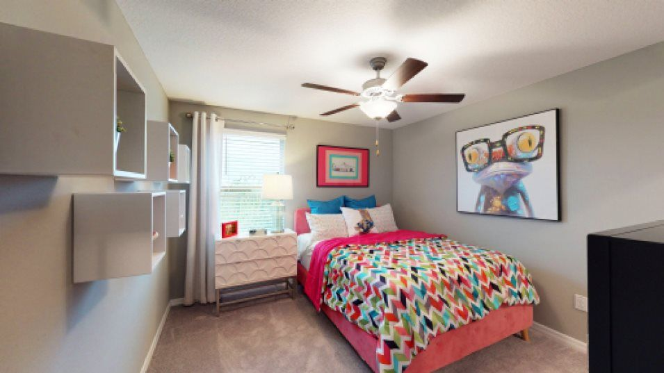 Bedroom featured in the Columbia By Lennar in Tampa-St. Petersburg, FL