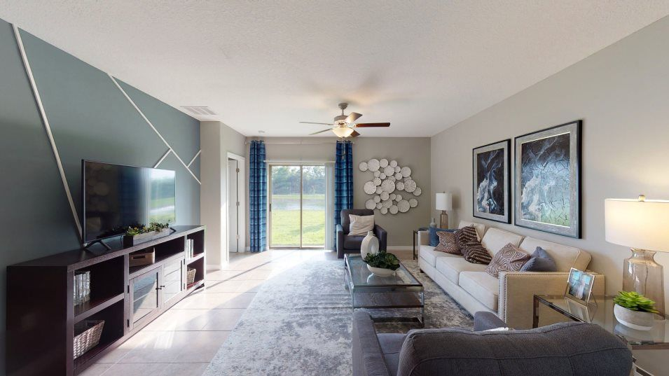 Living Area featured in the Columbia By Lennar in Tampa-St. Petersburg, FL