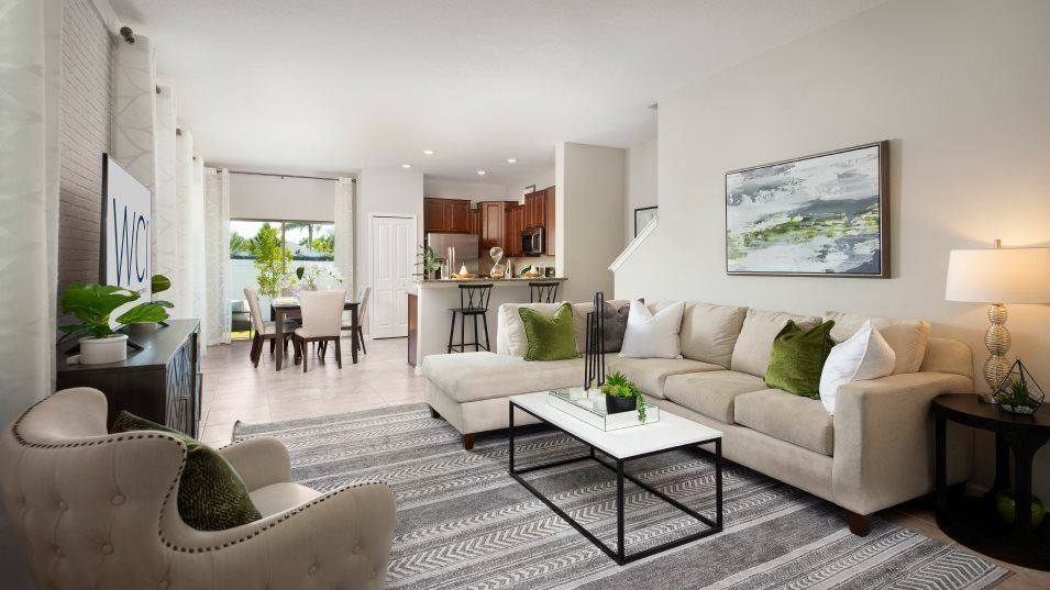 Living Area featured in the Glenmoor By Lennar in Tampa-St. Petersburg, FL