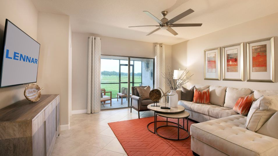 Living Area featured in the Sunrise II By Lennar in Tampa-St. Petersburg, FL
