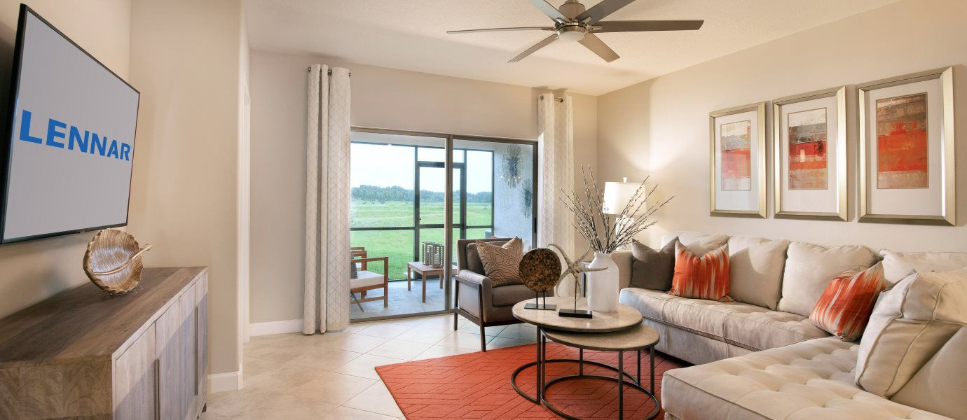 Living Area featured in the Dayspring II By Lennar in Tampa-St. Petersburg, FL