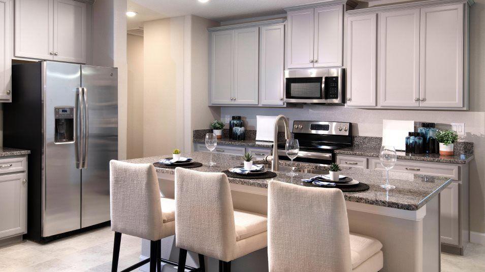 Kitchen featured in the Aurora II By Lennar in Tampa-St. Petersburg, FL