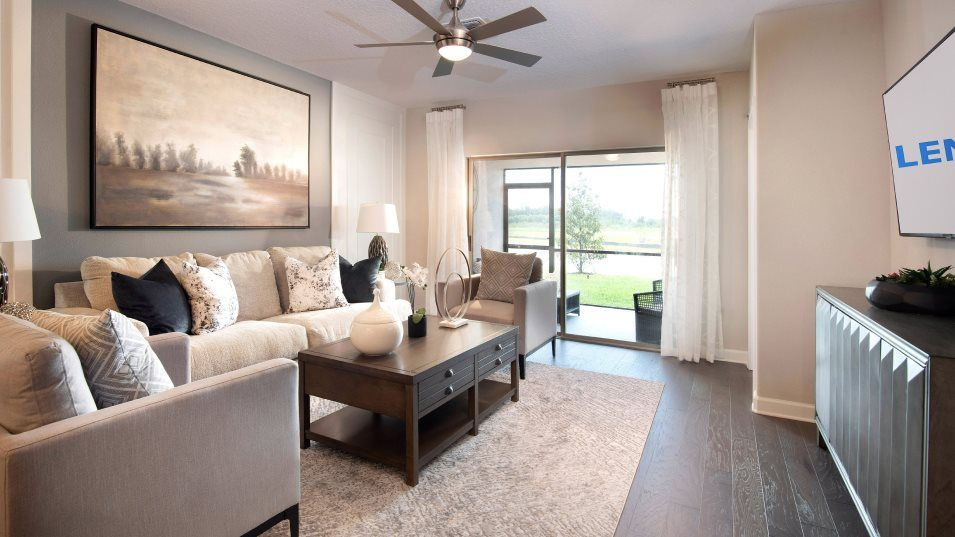 Living Area featured in the Aurora II By Lennar in Tampa-St. Petersburg, FL