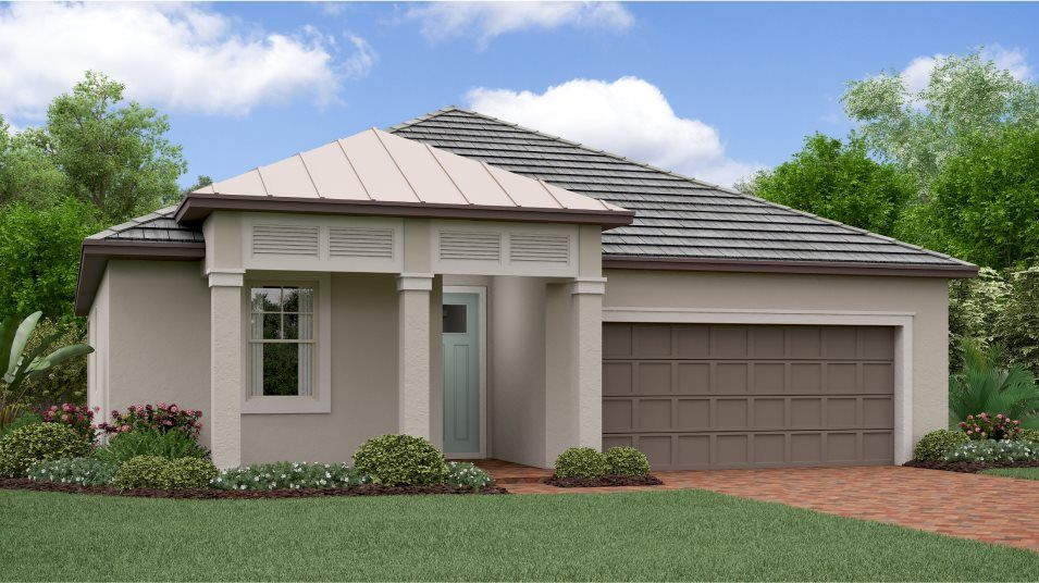 Exterior featured in the Morningtide By Lennar in Tampa-St. Petersburg, FL