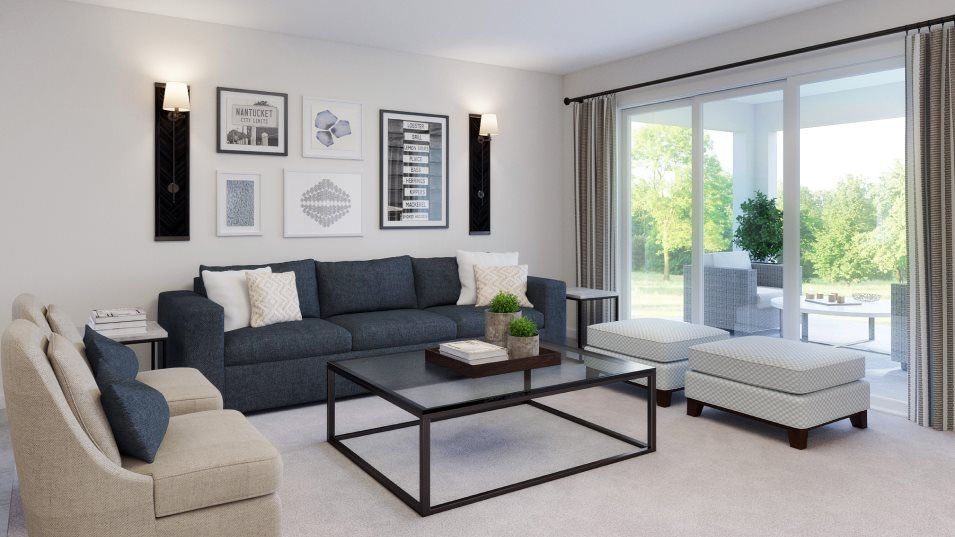 Living Area featured in the Morningtide By Lennar in Tampa-St. Petersburg, FL