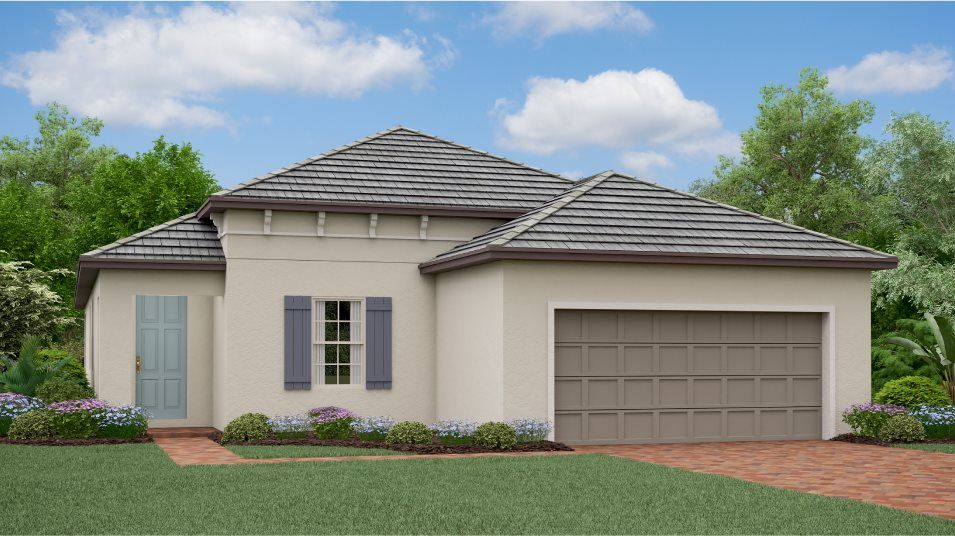 Exterior featured in the Splendor By Lennar in Tampa-St. Petersburg, FL