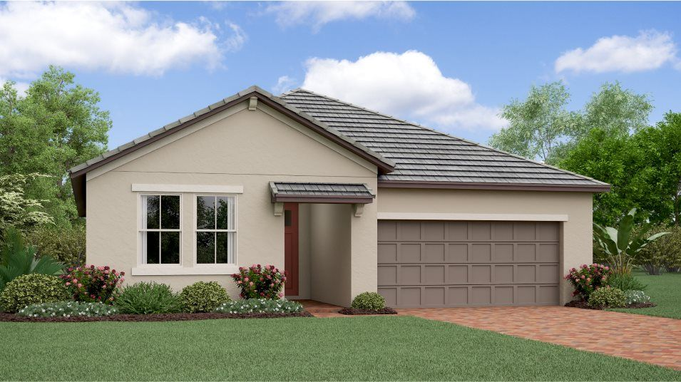 Exterior featured in the Sunburst By Lennar in Tampa-St. Petersburg, FL