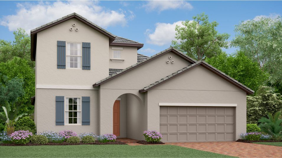 Exterior featured in the Meridian By Lennar in Tampa-St. Petersburg, FL