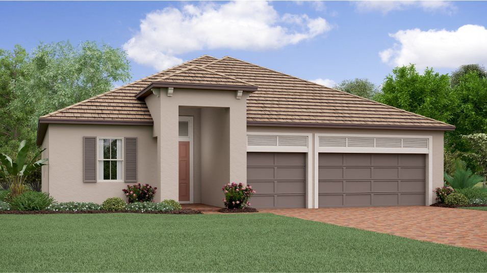 Exterior featured in the Eventide By Lennar in Tampa-St. Petersburg, FL