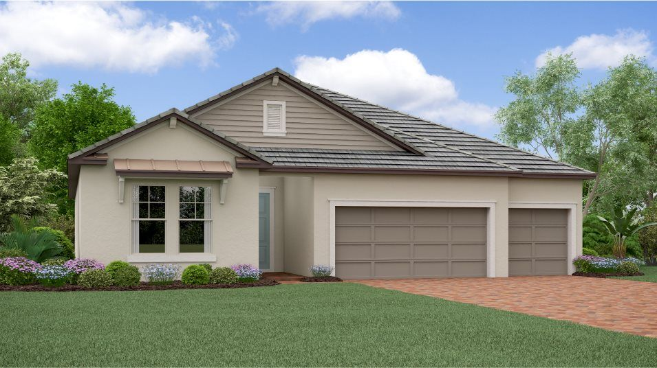 Exterior featured in the Daybreak By Lennar in Tampa-St. Petersburg, FL