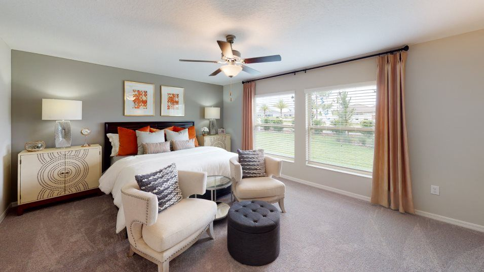 Bedroom featured in the Santa Fe By Lennar in Ocala, FL