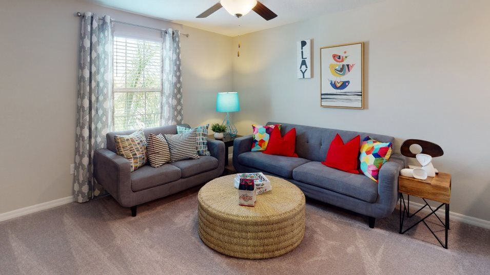 Living Area featured in the Providence By Lennar in Tampa-St. Petersburg, FL