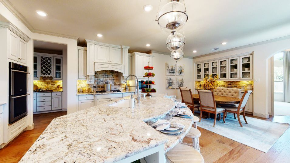 Kitchen featured in the Cappiello By Village Builders in Houston, TX