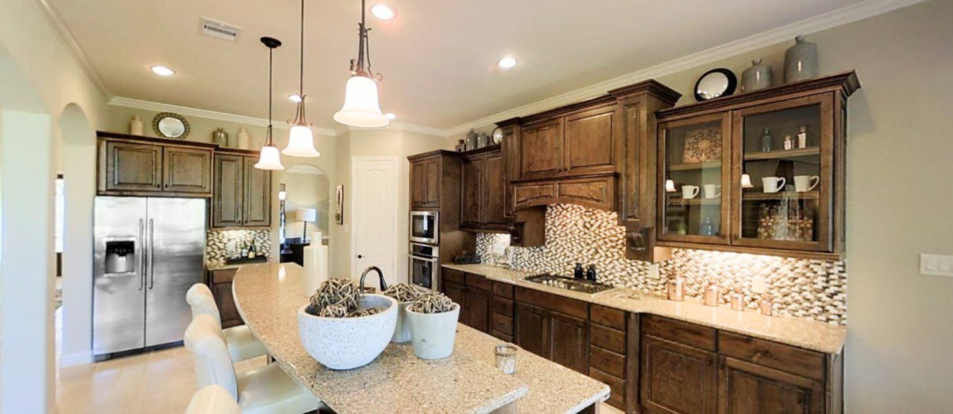 Kitchen featured in the Berkshire By Village Builders in Houston, TX