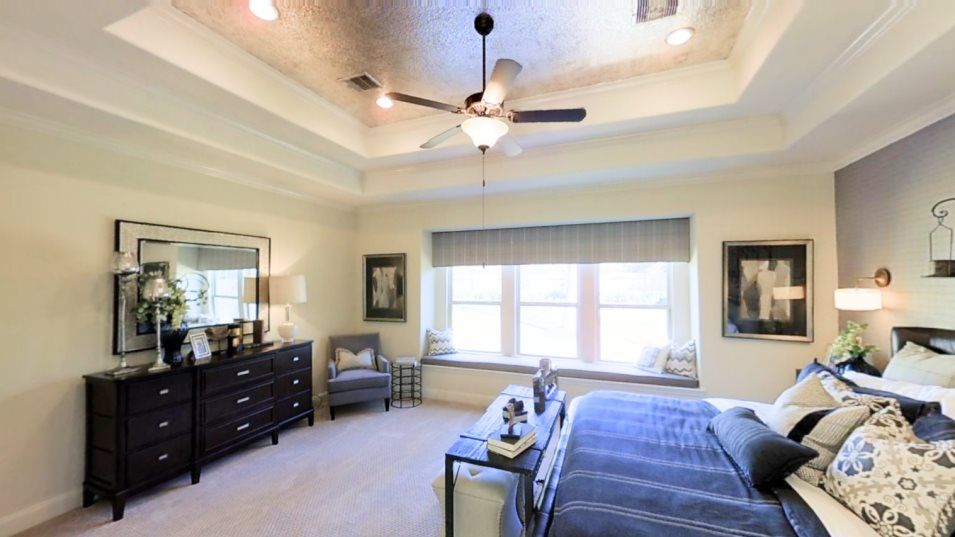 Bedroom featured in the Berkshire By Village Builders in Houston, TX