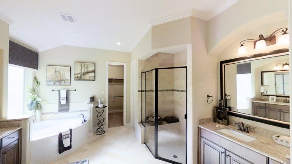 Bathroom featured in the Berkshire By Village Builders in Houston, TX