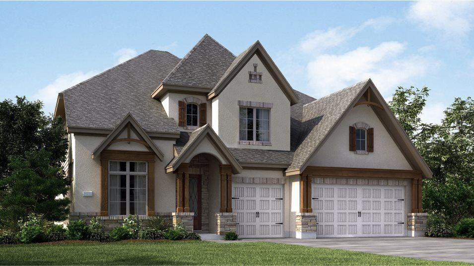 Exterior featured in the Whitaker By Village Builders in Houston, TX