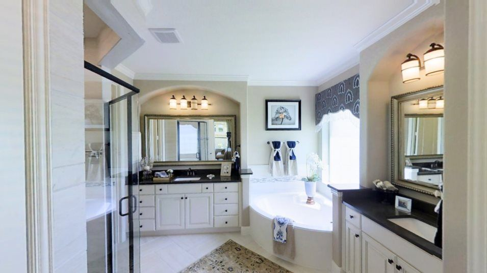 Bathroom featured in the Whitaker By Village Builders in Houston, TX