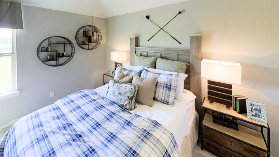Bedroom featured in the Whitaker By Village Builders in Houston, TX