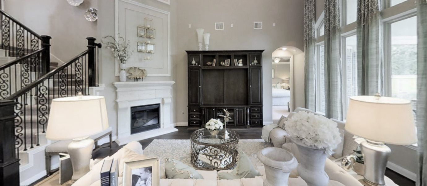 Living Area featured in the New Haven II By Village Builders in Houston, TX