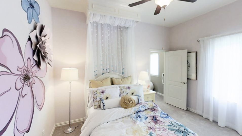 Bedroom featured in the New Haven II By Village Builders in Houston, TX