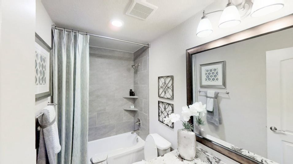 Bathroom featured in the New Haven II By Village Builders in Houston, TX