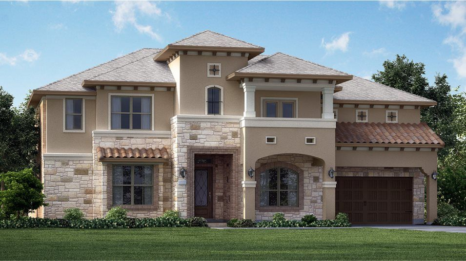 Exterior featured in the Bellview By Village Builders in Houston, TX