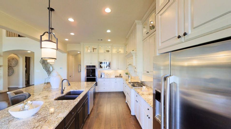 Kitchen featured in the Bellview By Village Builders in Houston, TX