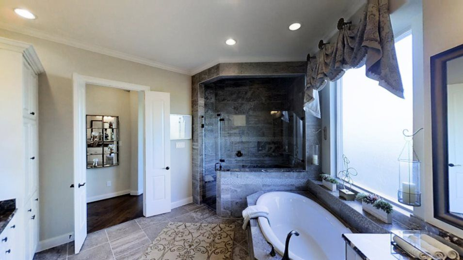 Bathroom featured in the Bellview By Village Builders in Houston, TX