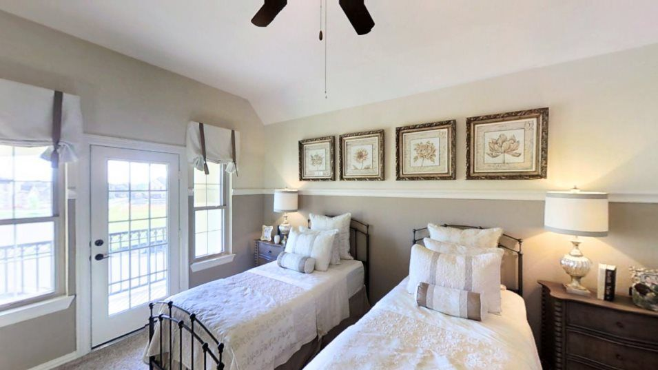 Bedroom featured in the Bellview By Village Builders in Houston, TX