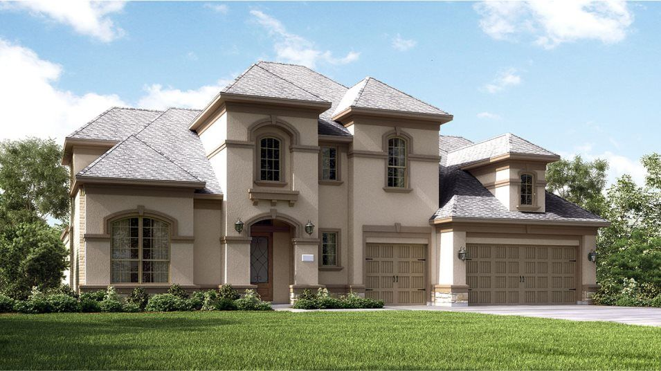 Exterior featured in the Ridgefield II By Village Builders in Houston, TX