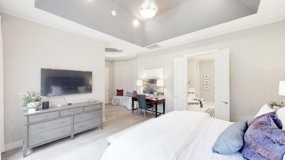 Bedroom featured in the Ridgefield II By Village Builders in Houston, TX