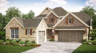 Ellsworth II - Towne Lake - Cambridge, Icon & Provence Collections: Cypress, Texas - Village Builders