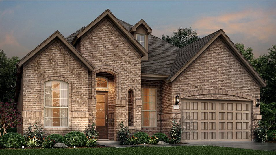 Exterior featured in the Cantaron By Lennar in Houston, TX