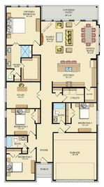 Russo III - Ashbel Cove at Baytown Crossings - Brookstone Collection: Baytown, Texas - Lennar