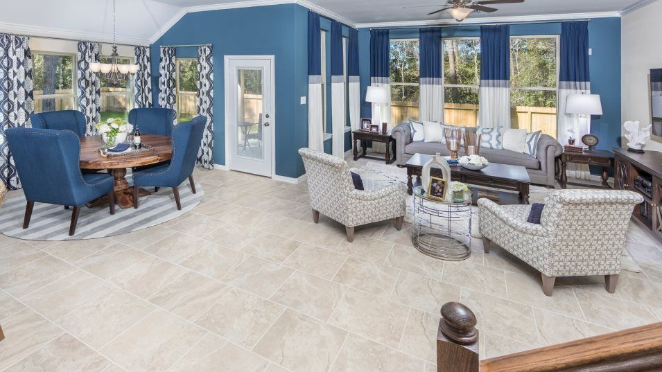 Living Area featured in the Radford II 3796 By Lennar in Houston, TX