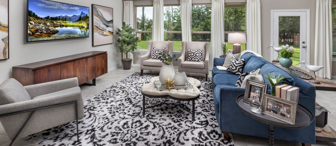 Living Area featured in the Alabaster II By Lennar in Houston, TX